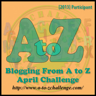 The A to Z challenge starts today