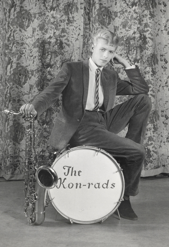 Promotional shoot for The Kon-rads1963