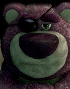 The Govenor strongly resembles Logs-O-Huggin' Bear. Picture from www.expertcomics.com