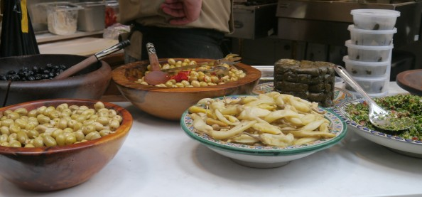 Cafe Moor serves North African/ Middle Eastern street food inside Kirkgate Market